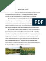 gcu 114- biodiversity in peru
