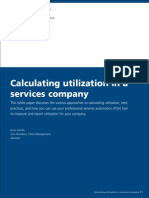OpenAir Calculating Utilization Services Company