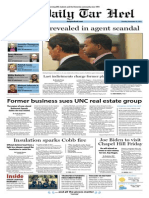The Daily Tar Heel for November 14, 2013