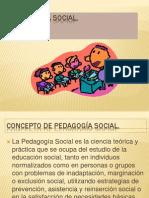 pedagoga social