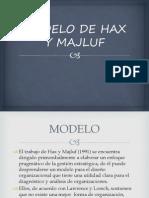 4.4.2 Modelo de Hax y Majluf