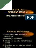 III Unidad Retraso Mental