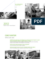 The 2012 Report of Hospice Casa Sperantei
