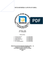 LAPORAN KULIAH KERJA LAPANGAN 2013.docx