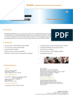PM-6600 Professional DTV CI Processor Modulator