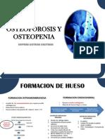 Osteoporosis y Osteopenia