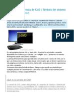 Instrucciones Modo Comando DOS
