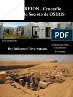 El Osireión - Cenotafio, el Templo Secreto de OSIRIS - Antiguo Egipto