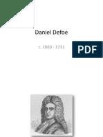 Danie Defoe - Basic facts