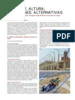 CAÍDA DE ALTURA - Soluciones Alternativas