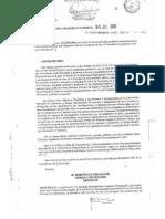 Resolución Ministerial