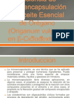 Determinación de la Eficiencia de Microencapsulación de Aceite paperrrr