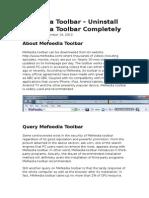 Mefeedia Toolbar – Uninstall Mefeedia Toolbar Completely.doc