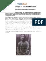 Ilmu Pernapasan Keraton Mataram