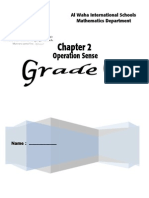 Ch 2 Operation Sense