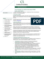 The Top 10 Things About FIDIC