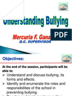 Understanding bullying  - Mercuria Gannaden.ppt