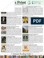 2013 Books in Print Summer Reading Guide