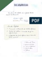 Resumo Frações Algébricas