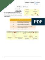 Ficha de revisões para o teste Quimica