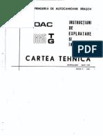 Carte tehnica DAC