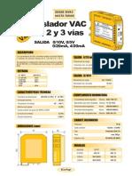 05b- Aislador de Tensión Alterna hasta 700 VAC, salida 0-10V, 4-20mA