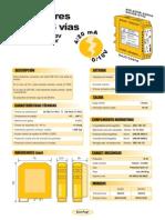 04b- Aislador de 2 y 3 vías bajo costo (4-20mA a 0-10V)