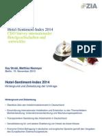 Hotel Sentiment Index 2014