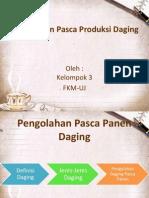 Penanganan Pasca Produksi Daging.pptx
