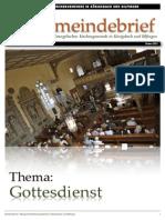 Gemeindebrief 2012 04 Ostern - 7. Ausgabe