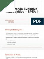Otimização Evolutiva Multiobjetivo – SPEA II