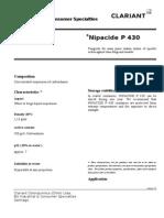 TDS Nipacide P 430 En