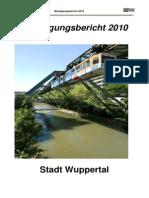Beteiligungsbericht 2010 -Stadt Wuppertal