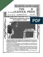 Puddledock Press October 2013