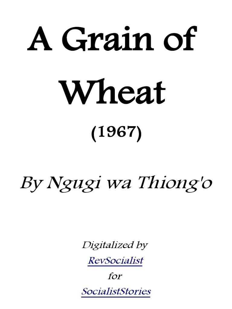 A Grain Of Wheat | Download eBook PDF/EPUB