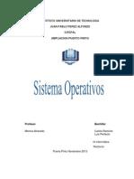Definición de sistema operativo