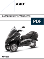 Piaggio MP3 250 Parts