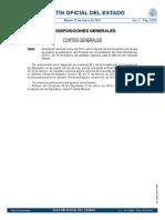 Convalidación Real Decreto Ley 3 2012
