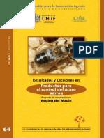 Varroa en Region del Maule, Chile