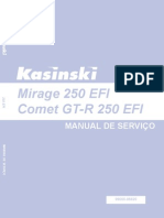 Kasinski Mirage EFI Manual Servico Mirage EFI