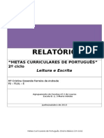 Metas Curriculares- Port-2º ciclo
