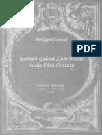 S-German Galant Lute Music in the 18th Century PKFarstad THESIS