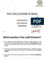 THE LADLI SCHEME IN INDIA presentation. THE LADLI SCHEME IN INDIA presentation