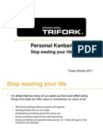 Personal Kanban Stop Wasting You Life
