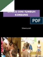 Deteksi Dini Tumbuh Kembang