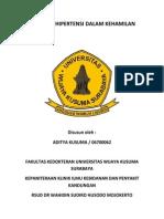 MAKALAH HIPERTENSI DALAM KEHAMILAN Tajul.docx
