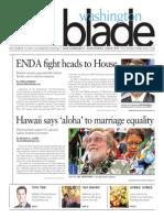 Washingtonblade.com, Volume 44, Issue 46, November 15, 2013