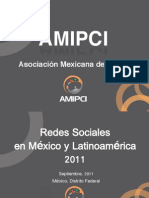 Estudio Amipci Redes Sociales