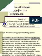 Sistem Akuntansi Penggajihan dan Pengupahan