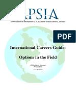 Career Guide APSIA